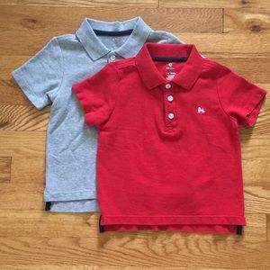 2 Old Navy pique polo short-sleeve t-shirts
